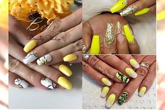 Manicure 2018: Żółty to kolor słońca i lata! Zobacz najciekawsze propozycje na żółty manicure