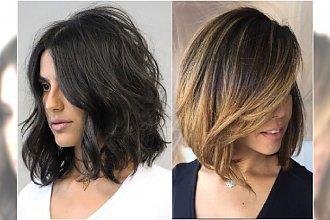 Modne fryzury średnie - 25 najlepszych propozycji na lato