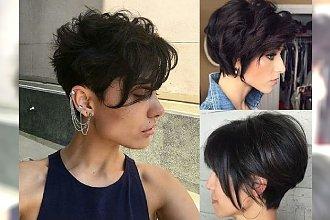 Krótkie fryzury dla brunetek - idealne na lato!