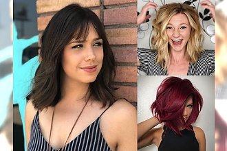 Fryzury dla włosów półdługich – sprawdzone cięcia na ten rok