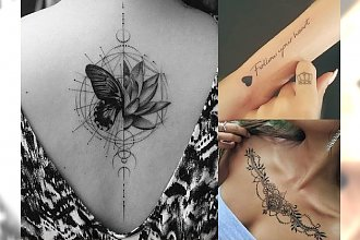 Ultramodne, oryginalne tatuaże 2018 – wzory, które nigdy się nam nie znudzą!