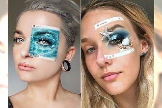 Zamieniają swoją twarz w TABLICĘ Instagrama! Oto nowy dziwaczny trend