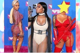 MTV Video Music Awards to impreza NAJBRZYDSZYCH KREACJI? Gołe pośladki i tiule, ale najgorzej wyglądała ona