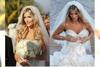 Joanna Krupa wzięła ślub! A pamiętacie jej PIERWSZĄ SUKNIĘ ŚLUBNĄ?! Janachowska ostro: Miała podkreślać atuty, a efekt był ODWROTNY