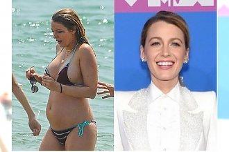 MTV Video Music Awards: Blake Lively zakryła się od stóp do głów. A i tak widać, że SCHUDŁA po ciąży 28 KG!