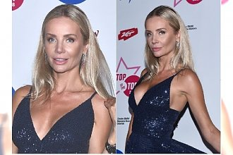 Agnieszka Woźniak-Starak na Top of the top festival wyglądała pięknie! To wszystko dzięki jednej zmianie