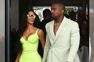 Tak Westowie poszli na ślub. Kim w neonowej gumie, Kanye w PRAWDZIWYM KOSZMARKU!