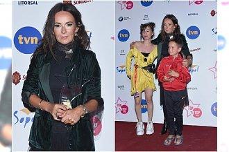 Kasia Kowalska pokazała dzieci na ściance! Jej śliczną córkę już znacie. A jak wygląda syn wokalistki?