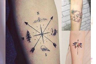 18 niezwykłych pomysłów na tatuaż dla prawdziwych podróżniczek! [GALERIA]