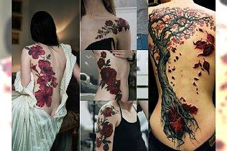 Gotyckie tatuaże - mroczne wzory dla kobiet. 20 najpiękniejszych inspiracji na jesień