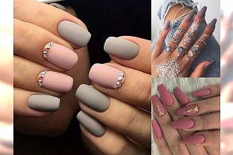25 propozycji na matowy manicure - zobacz galerię, która Cię zaskoczy!