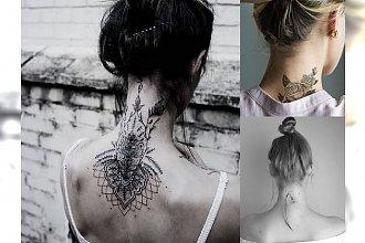 Tatuaż na karku - galeria kobiecych i intrygujących wzorów