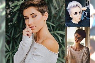 Top 25 pomysłów na fryzury dla włosów krótkich - trendy 2018/2019