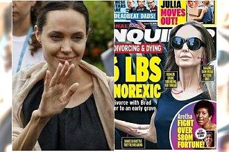 """Angelina znów potwornie schudła. """"Je kostki lodu, by oszukać głód"""". Tak wykańcza ją rozwód z Bradem [ZDJĘCIA]"""