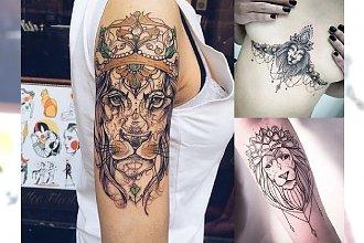 23 pomysły na prześliczny i oryginalny tatuaż z motywem lwa! [GALERIA]