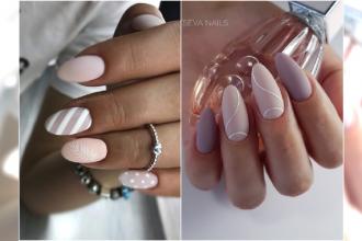 Matowy manicure nude - gorący trend jesieni. Zobaczcie najpiękniejsze wzory