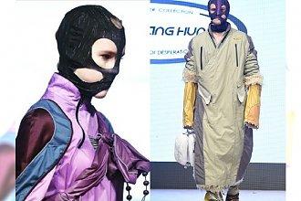 Stylizacja na BANDZIORA - HIT pokazu mody w Vancouver! Projektantowi gratulujemy pomysłowości. Gotowi na takie wdzianko?
