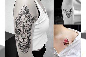 18 słodkich i oryginalnych pomysłów na tatuaże dla dziewczyn! [GALERIA]