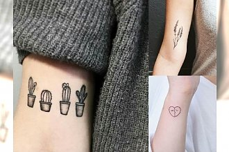Małe tatuaże dla dziewczyn - galeria najpiękniejszych wzorów z modnymi motywami