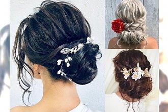 Fryzury ślubne - galeria najpiękniejszych uczesań z ozdobami do włosów
