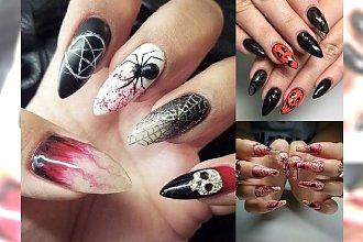 Manicure na Halloween - przerażające stylizacje, które robią wrażenie! [GALERIA]