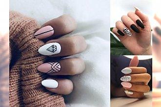 18 pomysłów na stylowy manicure - przeglądamy trendy 2018/2019