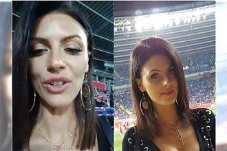 Marta Barczok kibicowała Polakom na meczu z Włochami! Co ona miała na sobie?