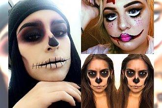 Makijaż na Halloween! Zobacz, jak wykonać prosty makabryczny make up na ostatnią chwilę!