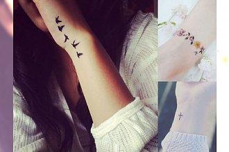 Tatuaż w okolicy nadgarstka - 20 kobiecych wzorów, w których się zakochasz!