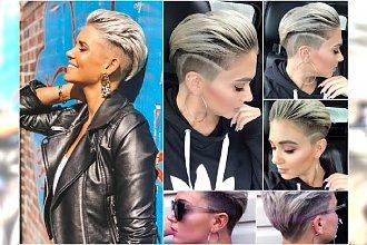 Modne krótkie fryzury damskie. Zaczesujemy włosy, stroszymy grzywki. Te fryzury są hitem sezonu!