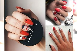 Red manicure - gorąca czerwień na paznokciach, która nigdy nie wyjdzie z mody! [GALERIA]