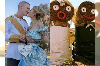 Ach, co to był za DZIWNY ślub! Panna młoda jak z bajki, a on...