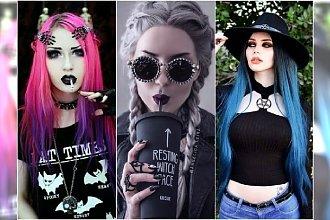 Stylizacje na Haloween. Ubierz się w stylu Nu Goth i Goth Glam!