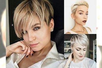 Fryzury pixie i undercut - galeria krótkich cięć dla blondynek