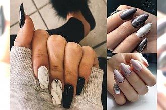 Marmurkowy manicure - przeglądamy najgorętsze trendy