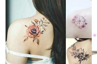 Tatuaż na łopatce - galeria ślicznych wzorów dla kobiet