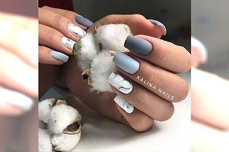 Marmurkowe paznokcie. 20 eleganckich wzorów na jesień