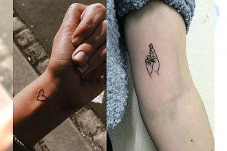 Małe tatuaże - 30 uroczych i dziewczęcych wzorów, które robią wrażenie