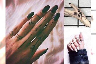 Tatuaże w okolicy palca - galeria niesamowitych wzorów dla kobiet