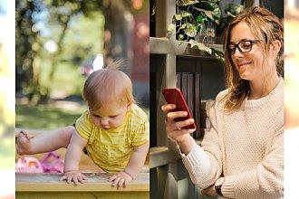 Doniosła na bratową do opieki społecznej, bo młoda mama zamiast bawić się z dzieckiem, patrzy w telefon!