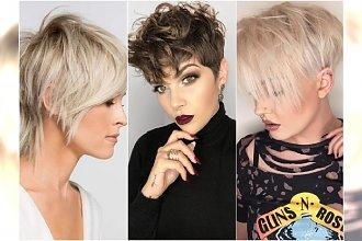 Modne krótkie fryzury 2019. Powracają cięcia włosów stylizowane na lata 90.!