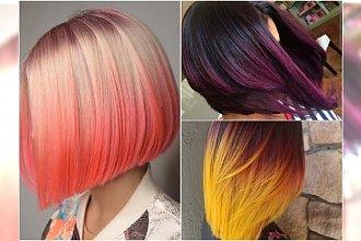 Ombre bob - najpiękniejsza fryzura jesieni. Takich kolorów jeszcze nie próbowałyście!