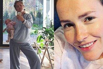 """Olga Frycz o sobie: """"Moja figura jest do dupy"""". Tak motywuje młode mamy"""