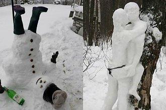 Zima lubi nas zaskoczyć, a może tym razem to Wy zaskoczycie zimę bałwanem? Uwaga, niektóre spośród naszych propozycji nie są grzeczne!