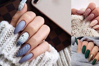 24 pomysły na sweterkowy manicure - galeria ślicznych zdobień