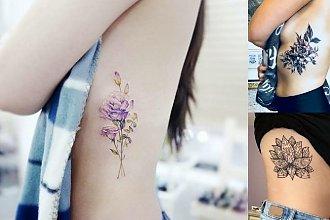Tatuaż na żebrach - 26 magicznych wzorów dla dziewczyn