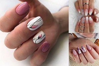 20 pomysłów na różowy manicure - galeria nietuzinkowych zdobień