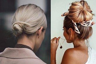 16 przepięknych i stylowych koków - galeria fryzur 2019