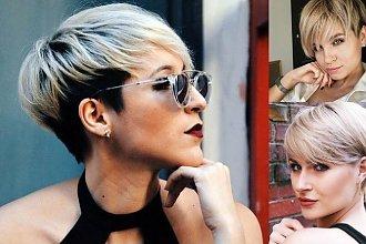 Krótkie fryzury dla blondynek - cięcia pixie, undercut i wiele innych