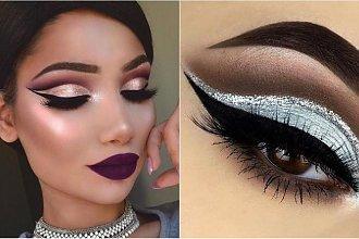 Sylwestrowy makijaż cut crease. Najlepsze propozycje dla lubiących spektakularny efekt!